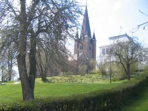 Mariestad - Church view 2