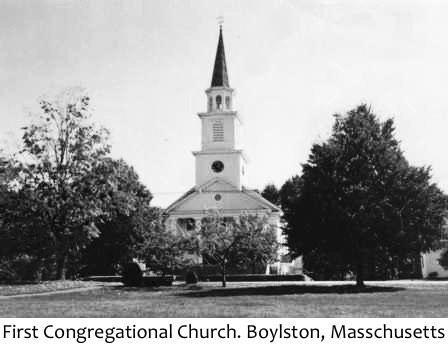 1st Congregational Church Boylston