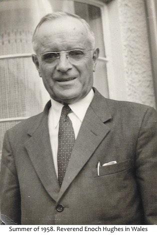 Enoch Hughes in Wales 1958
