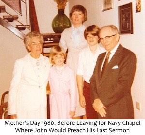 Before Navy Chapel