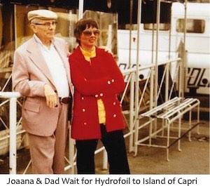 Joanna & Dad Hydrofoil