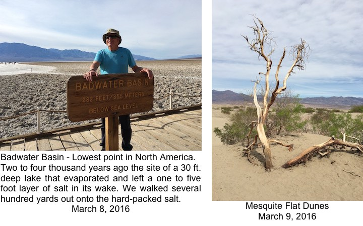 DVNP Badwater and Mesquite
