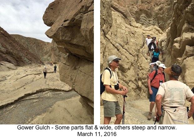 DVNP Gower Gulch Flat & Steep