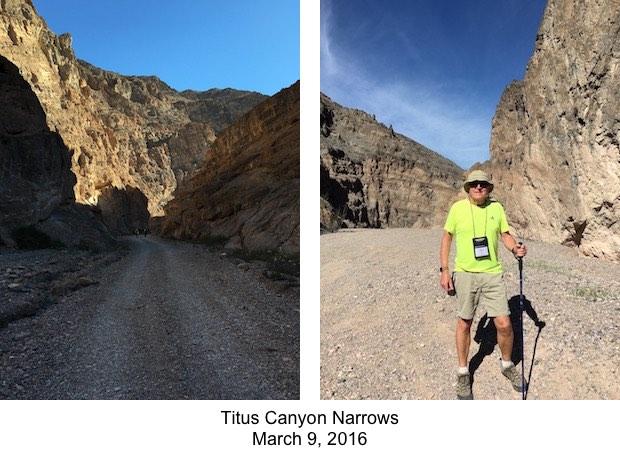 DVNP Titus Canyon Narrows