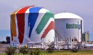 Original Boston Gas Tanks
