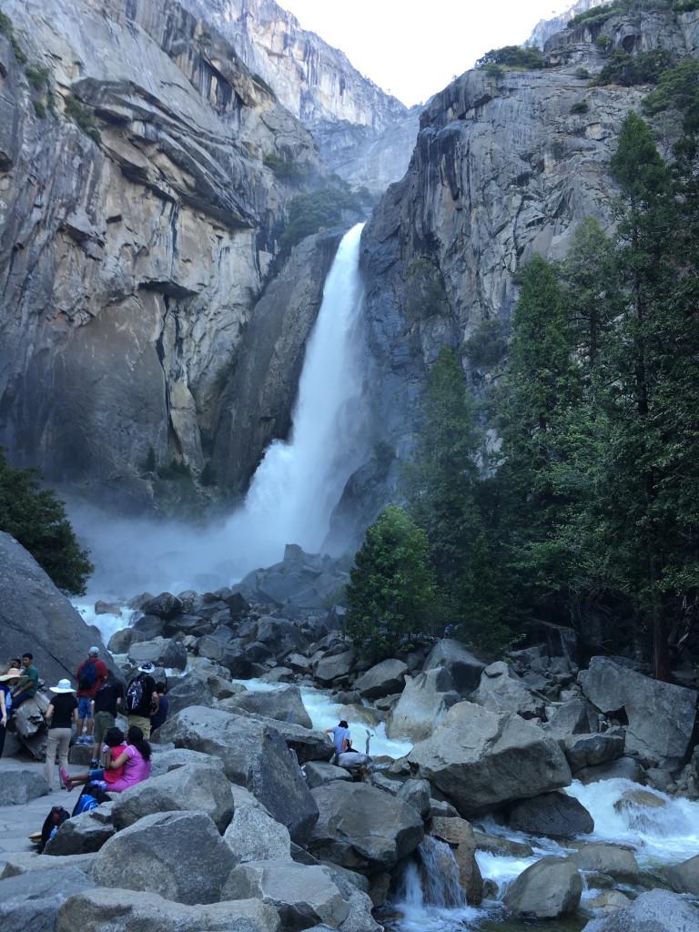 Yosemite Falls Base