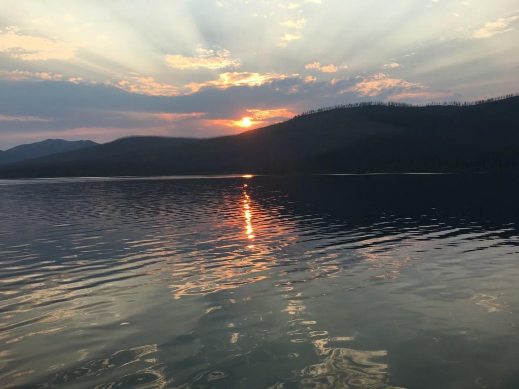 Boat - Sunset