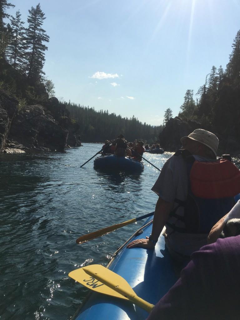 Rafting - Lineup