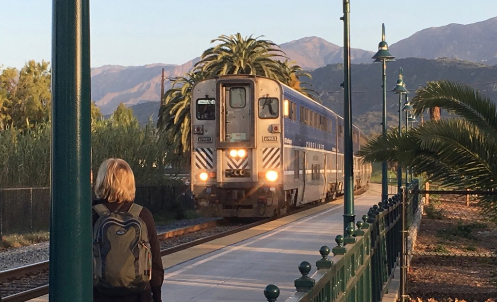 Amtrak - Arrives in Carpinteria