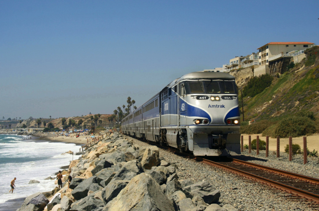 Amtrak - San Clemente Photo by Patrick Pelster