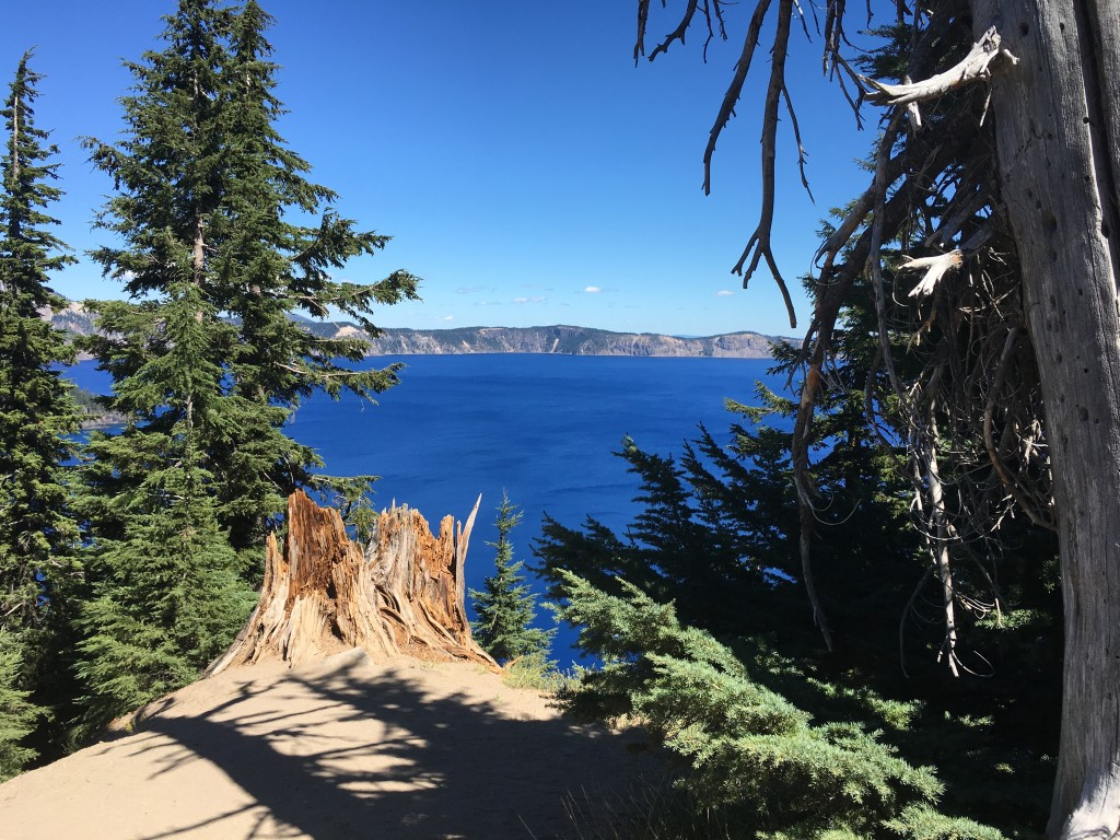 Crater Lake - First Sighting