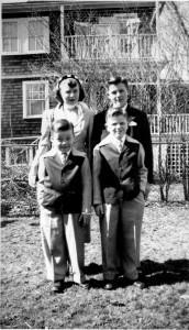 Bev, Carl, Ken & Bob 1950