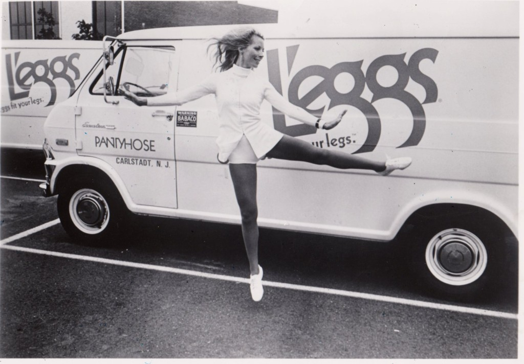 Jacki Sorensen designed an aerobic dancing workout for L'eggs distributors in 1973.