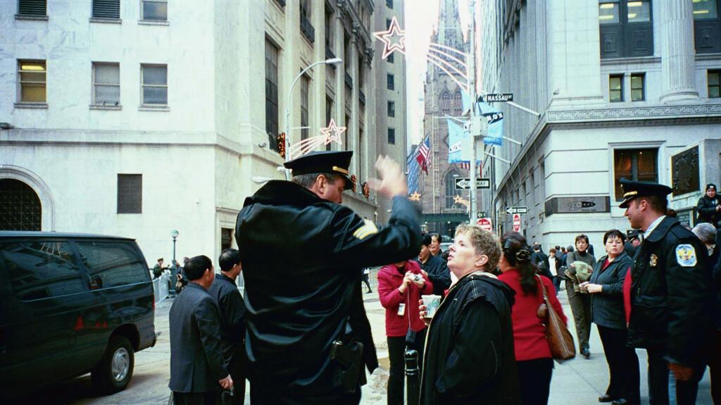 JMJ & Park Police at Wall Street
